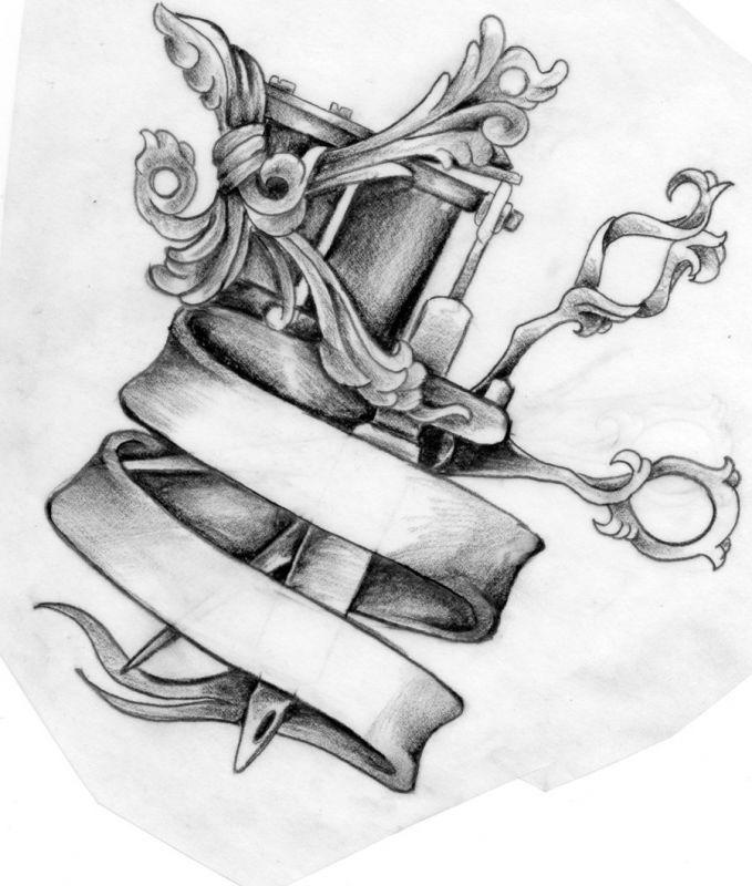 Ciekawy wzór na tatuaż