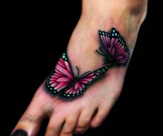 Tatuaże Na Stopie 2