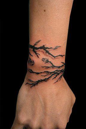 Gałęzie Drzewa Tatuaż
