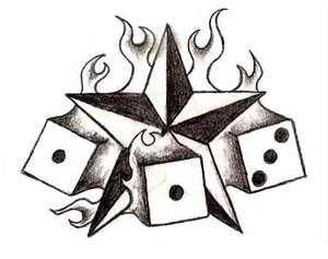 Tatuaże Gwiazdy