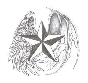 Gwiazda z dwoma skrzydłami