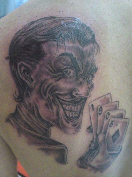 Karty Resovia Rzeszów tatuaż