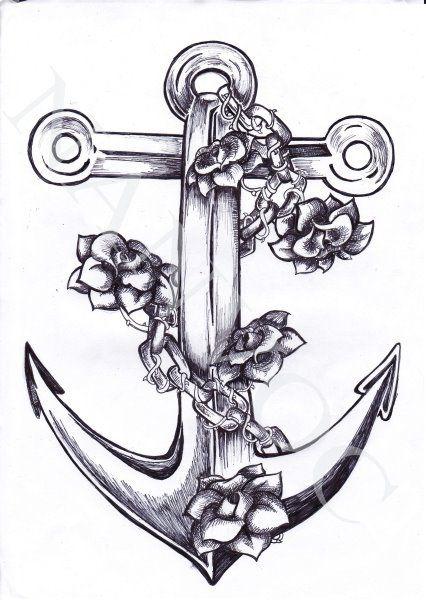 Tatuaże Marynarskie Statki Kotwice Wzory Piratów