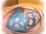 Loga piłkarskie tatuaż