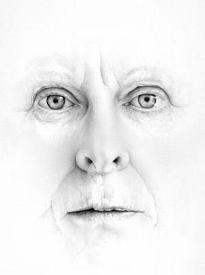 Męska twarz jak żywa
