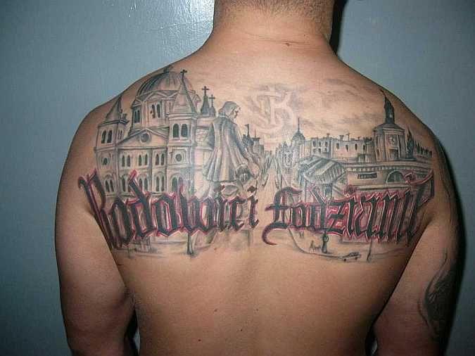 Rodowici Łodzianie tatuaż