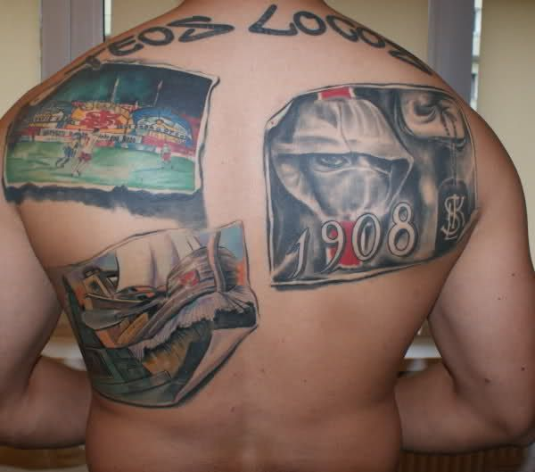 Tatuaż kibicowski