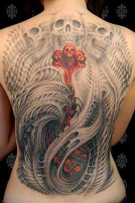 Tatuaż z czaszkami