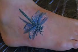 Tatuaż z ważką