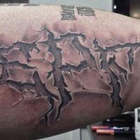 Tatuaż kibica LP