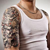Tatuaż rękawek różne motywy