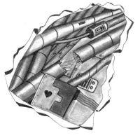 Biomechanika kable tatuaż wzór