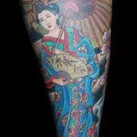 Kolorowa geisha