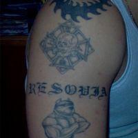 Tatuaże na ramieniu