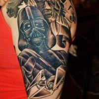 Tatuaż Gwiezdne wojny