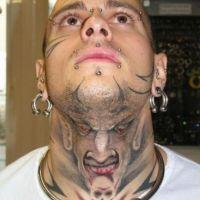 Tatuaż z diabłem