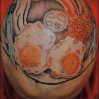 Tatuaż z jedzeniem