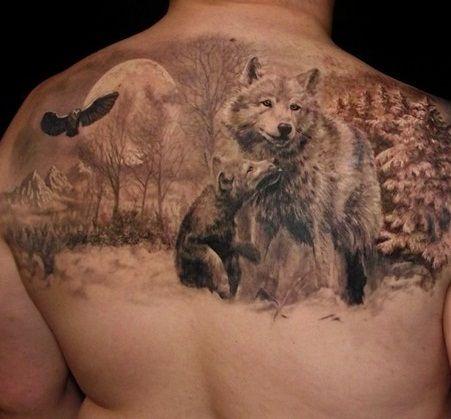 Tatuaże Na Plecach 4