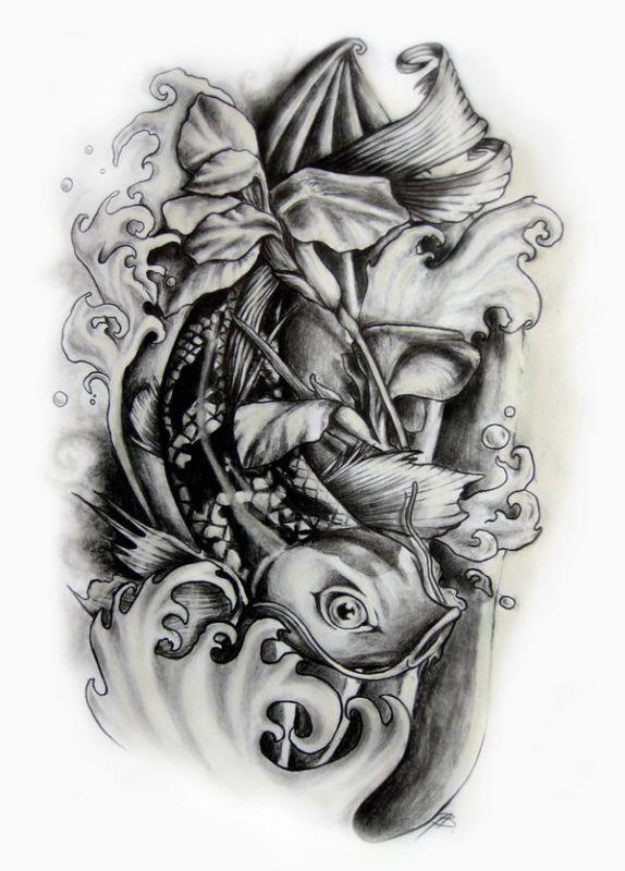 Tatuaże Zwierzęta Wodne