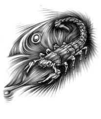 Wzór Tatuażu Skorpion Znak Zodiaku