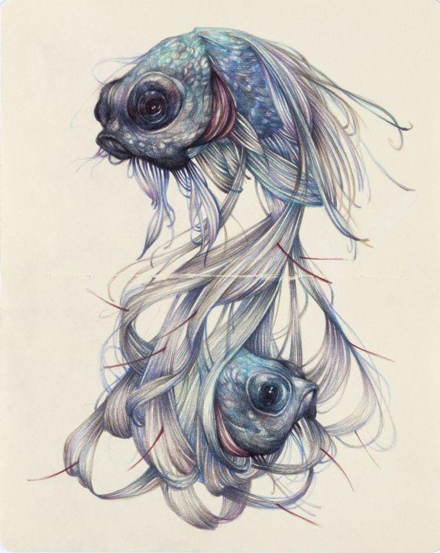 Znak Zodiaku Ryby Wzór Na Tatuaż