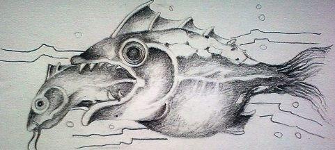 Znak Zodiaku Tatuaż Wzór Ryby