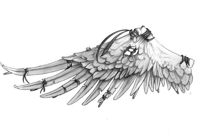 Tatuaże Anioły Skrzydła