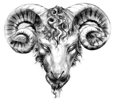 Znak Zodiaku Koziorożec Znak Zodiaku Tatuaż Baran