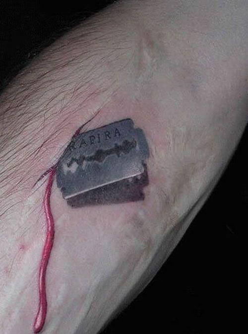 Tatuaż Pióro I Symbol Nieskończoności