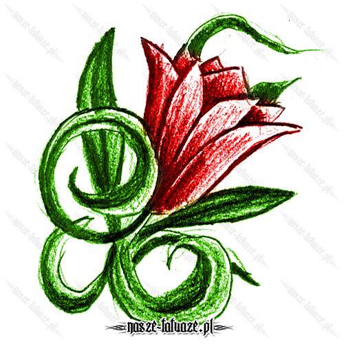 Czerwona lilia