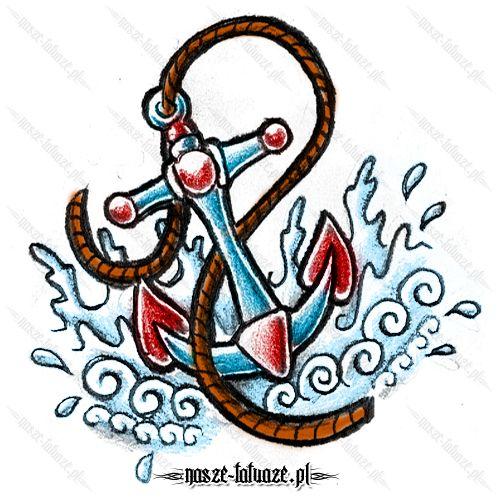 Kotwica na wodzie