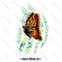 Barwny motylek