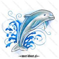 Błękitny delfinek