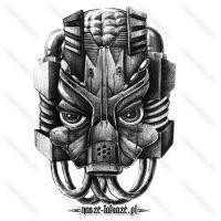Metalowa twarz