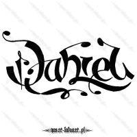 Tatuaż imię Daniel