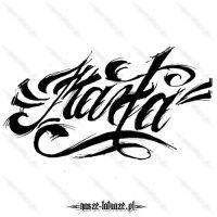 Tatuaż imię Marta