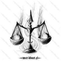 Znak zodiaku - Waga z kulami