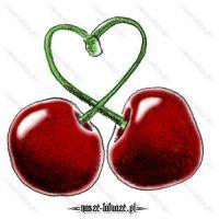 Wiśnie z serduszkiem
