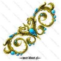 Złoty ornament
