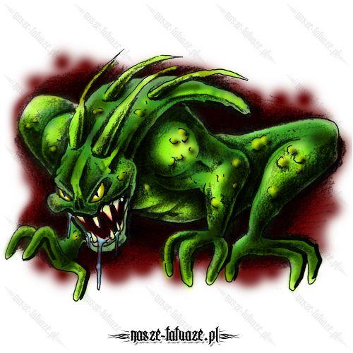 Zielony monster