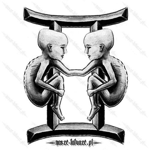 Znak Zodiaku Baran Tatuaż Tatuaż Bliźnięta Znak Zodiaku